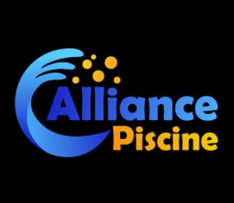 Logo alliance piscine