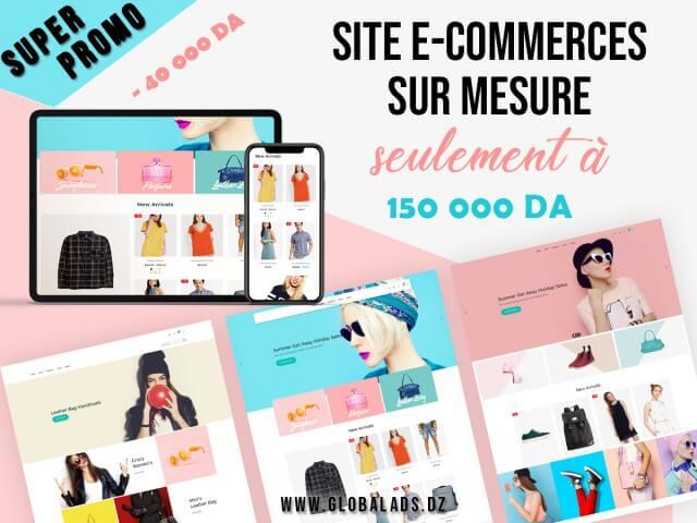 Promotion création site e-commerce en Algérie